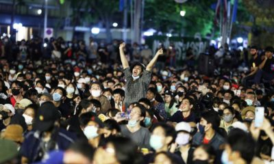 Anti-government protests Thailand