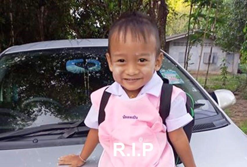 Toddler, School Van, Thailand
