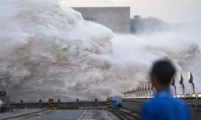 three gorges dam, china, monsoon rains