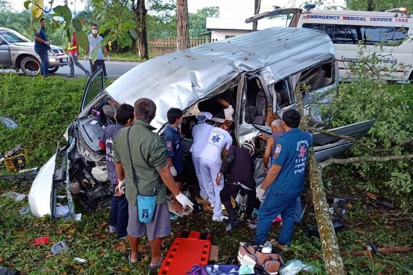 Passenger Van, southern Thailand,