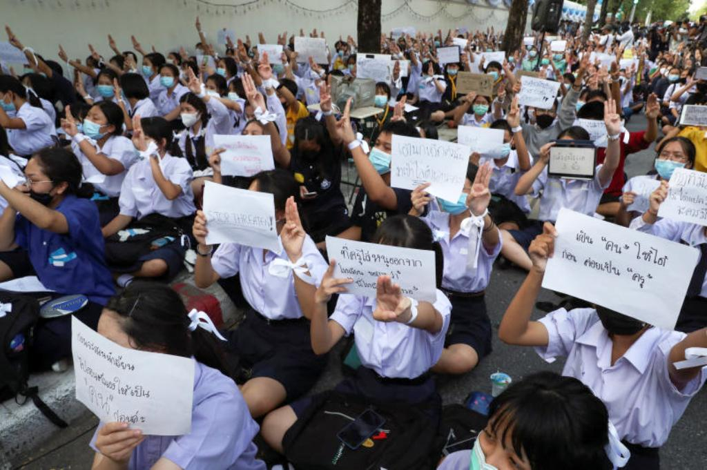 Education Minister,Students, Thailand, Education, Protests