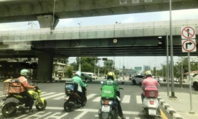 app based platforms, Delivery riders, Thailand