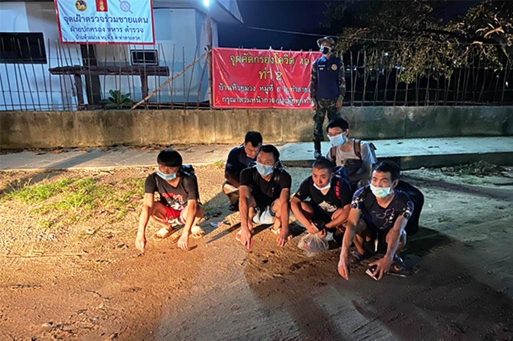 chinese, nationals, northern thailand, border