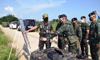 Border Security Tightened in Chiang Rai Over Covid-19 Threat