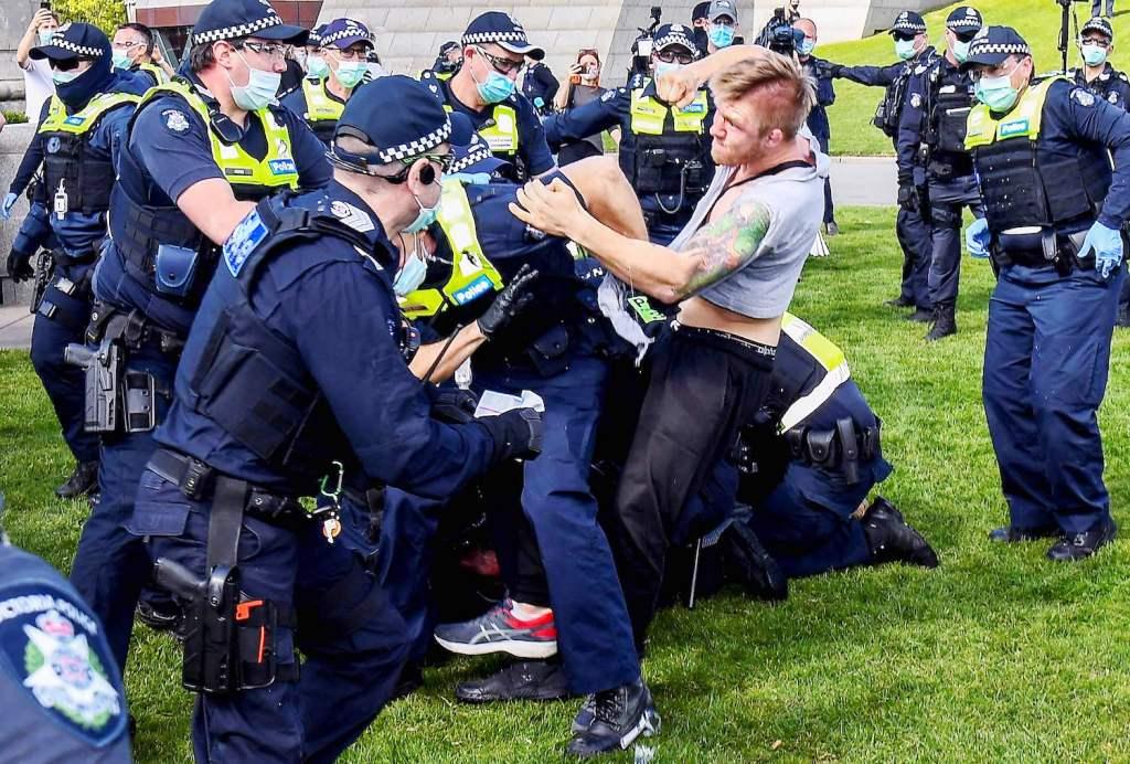Australia, Protests, Covid-19