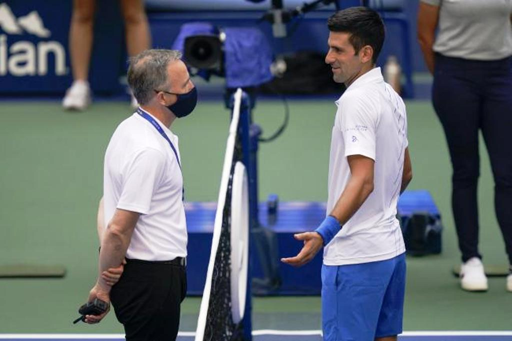 Djokovic, US Open, Tennis, Judge