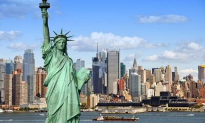 New York city, Travel, Statue, Liberty