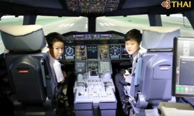 Thai Airways flight simulator, Thailand