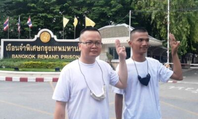 Thailand Court Frees Two Key Anti-Government Activists
