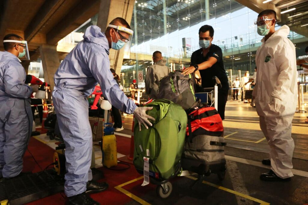 Quarantine for Foreign Tourists in Thailand
