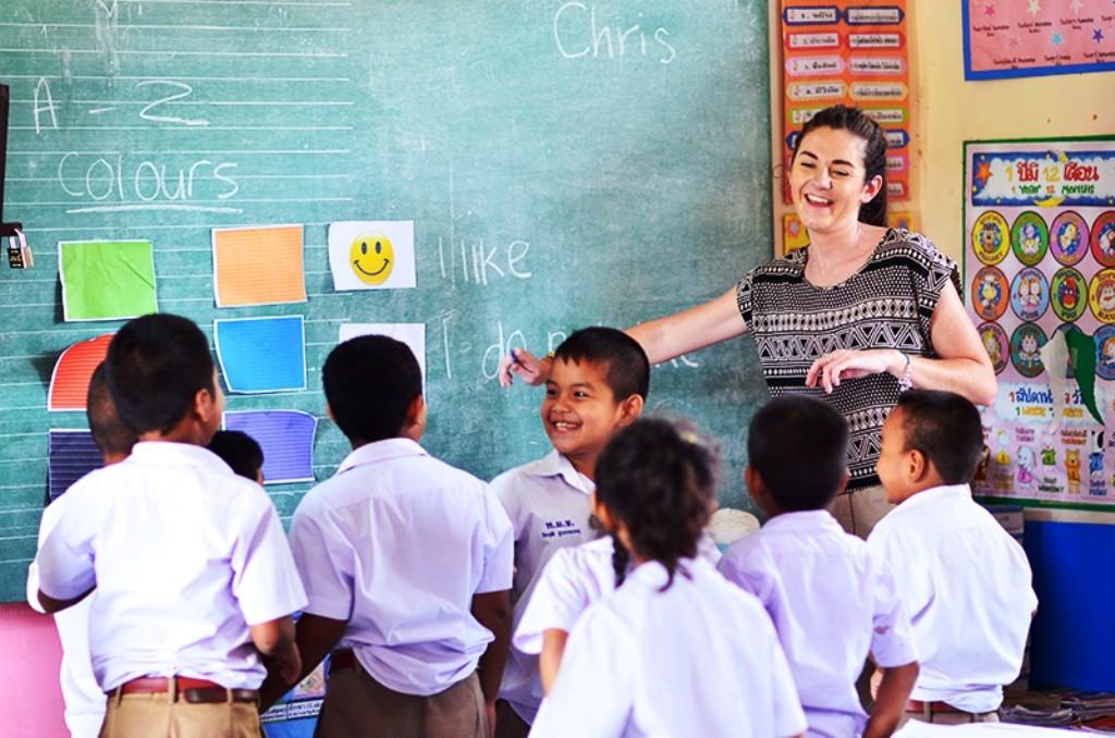 Thailand, Teachers, English