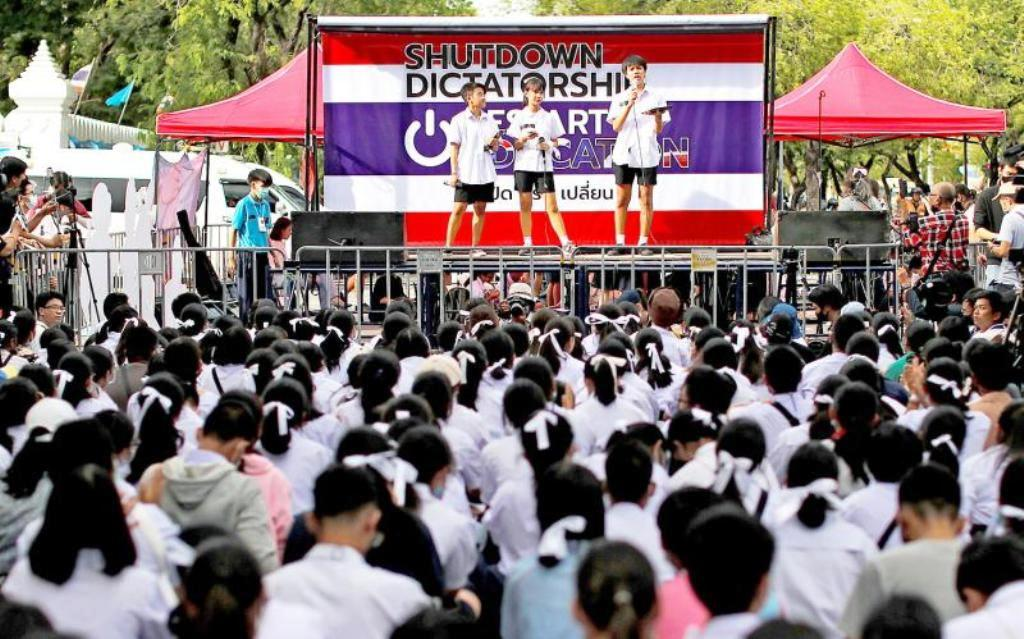 Thai Police Stoop to a New Low Targeting High School Students Over Protest