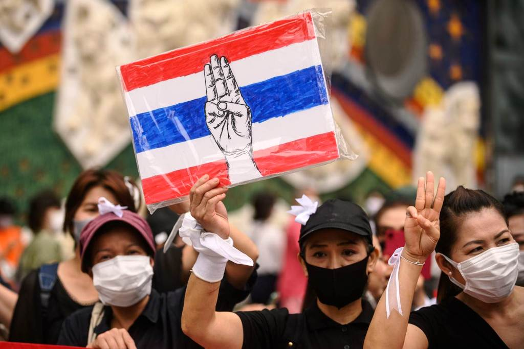 Thousands of Protesters , Government, Bangkok , Thailand