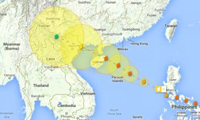 Tropical Storm Noul, weather warning, Thailand