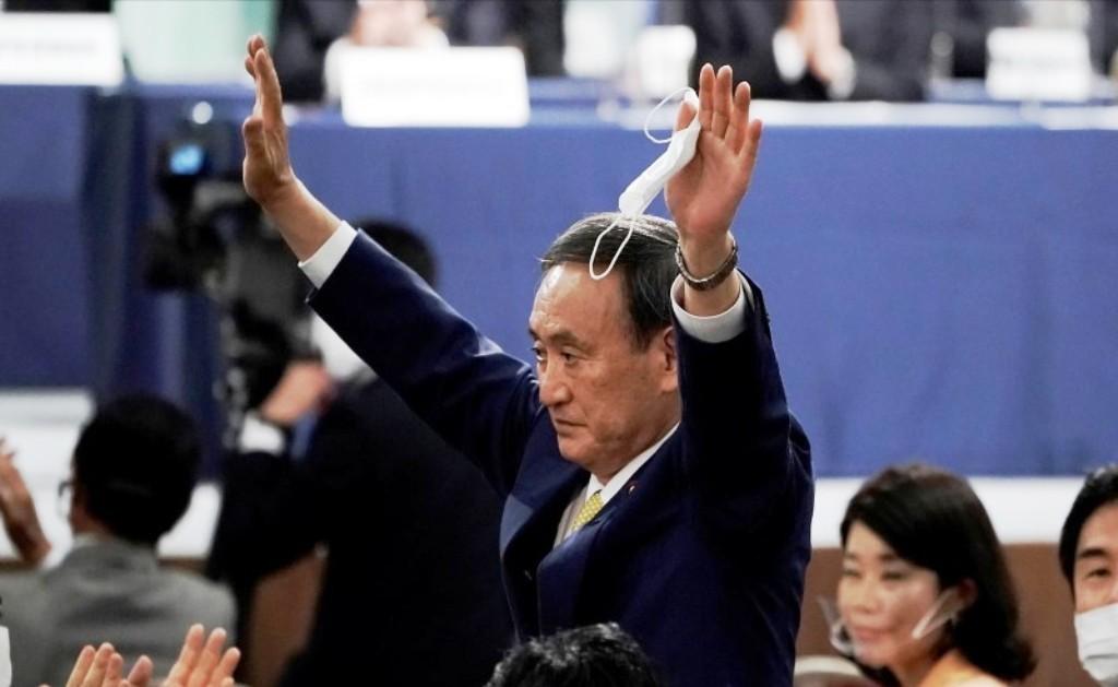 Yoshihide Suga, Japan, Prime Minister