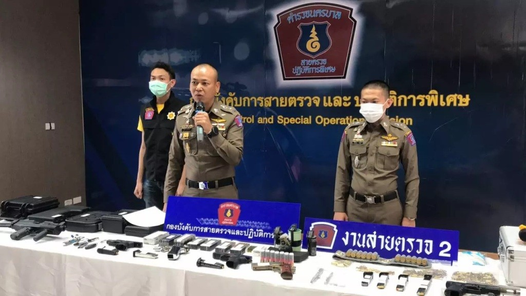 foreigners arrested thailand