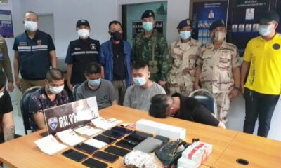 Six Chinese Nationals Arrested in Chiang Rai's Mae Sai District