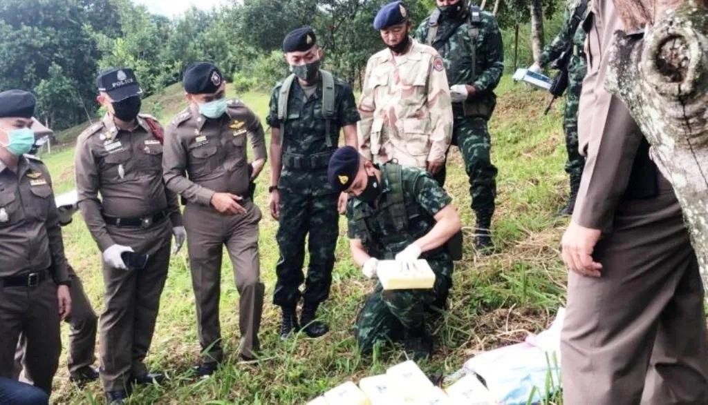 Thai Army Seizes 2 Million Meth Pills at Chiang Rai Border Crossing