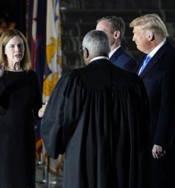 Amy Coney Barrett was confirmed to the Supreme Court
