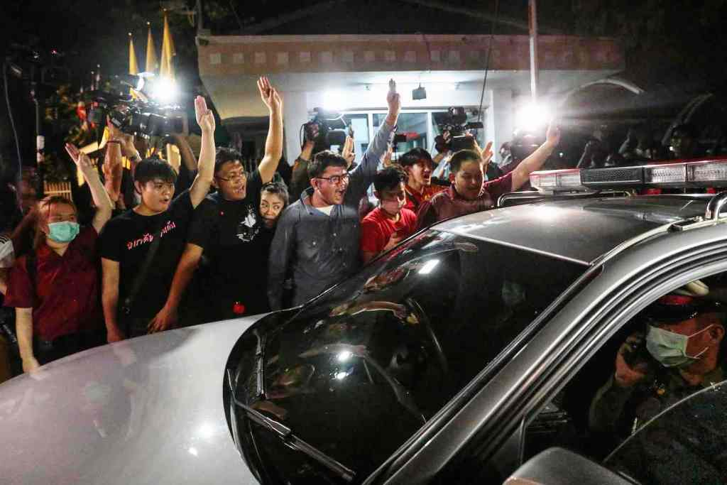 Anti-Government Protest Leaders Rearrested after Release from Prison