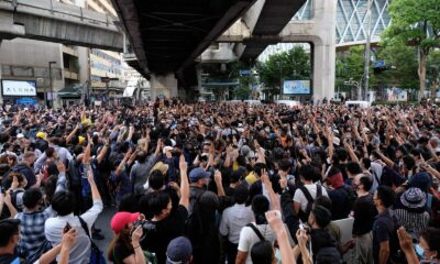 demonstrators, Anti-Government Protesters Defy Prime Minister in Bangkok