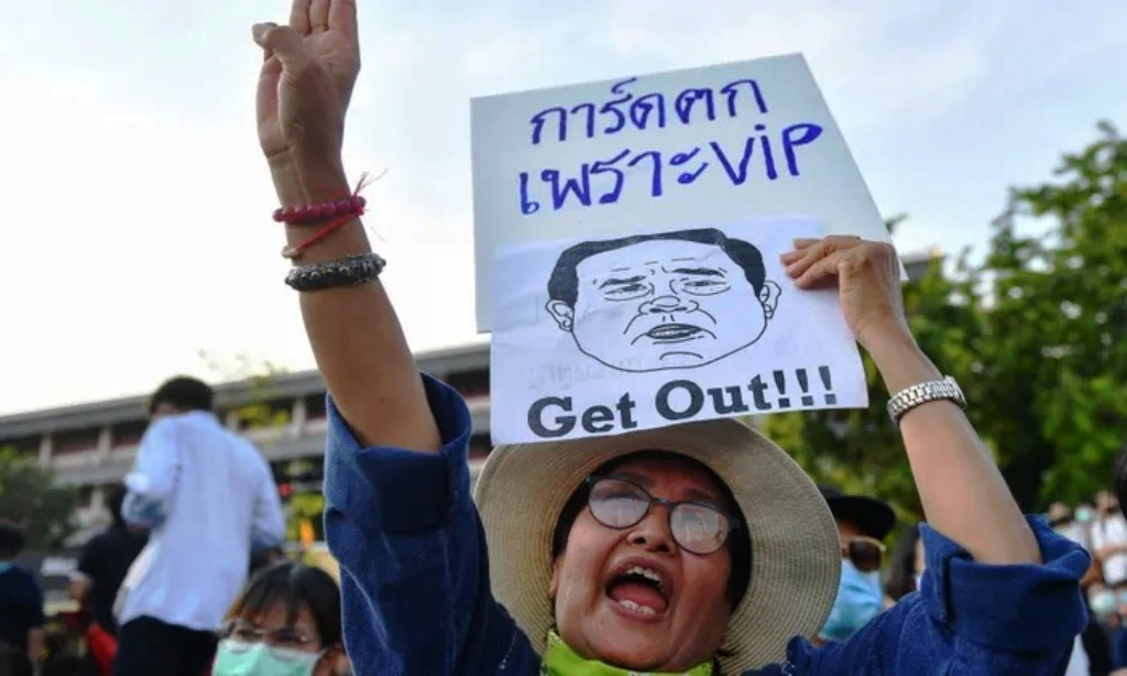Anti-Government Protesters Vow We Won't Stop Until PM Gone