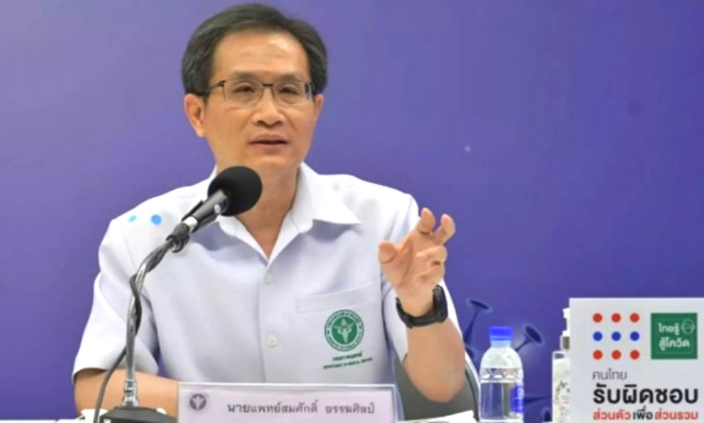 Medical Chief Backs Proposal to Reopen Thailand Despite covid-19 Virus Fears