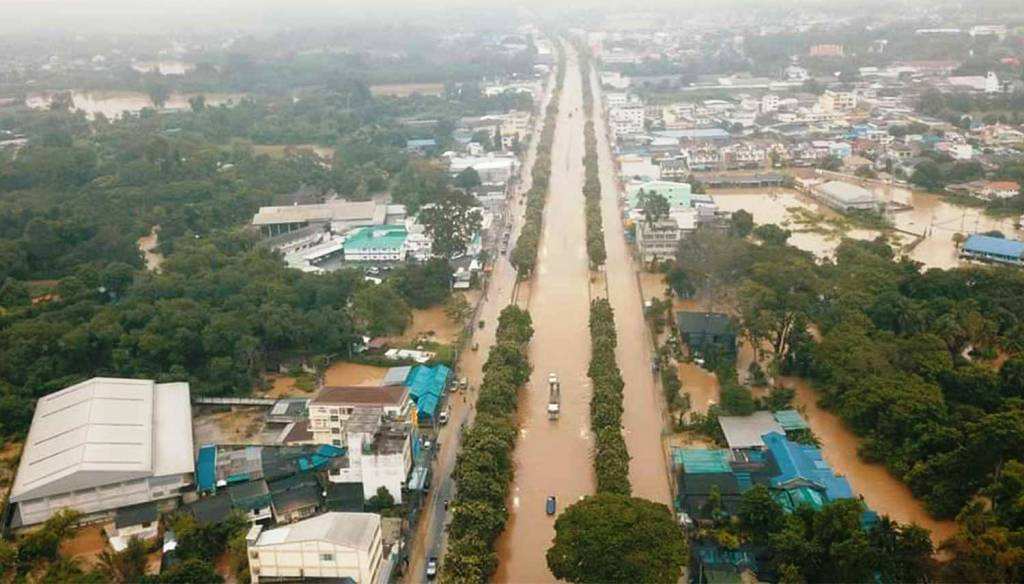 Nakhon Ratchasima Thailand Sees Worst Flooding in 15 Years