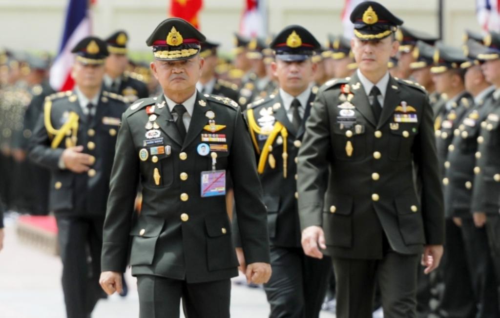 Thailand, Anti-government, Protesters, Army, Bangkok, Thailand