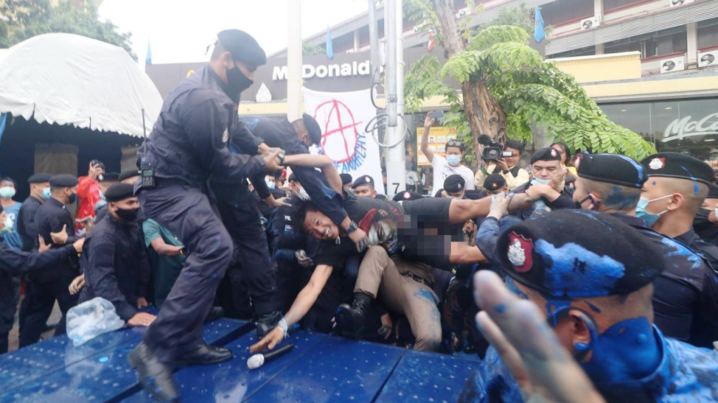 Pro-Democracy Demonstrators Arrested Ahead of Rally in Bangkok