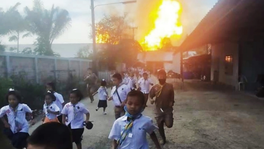 School Child Evacuated after Gas Pipeline Explosion Kills 2, Injures 28
