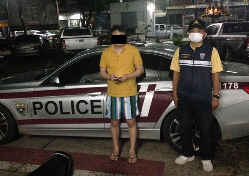 tourist police,Naked, Singaporean, Visa Overstay, Thailand