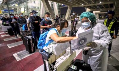Bangkok, Special Tourist Visa arrivals from China