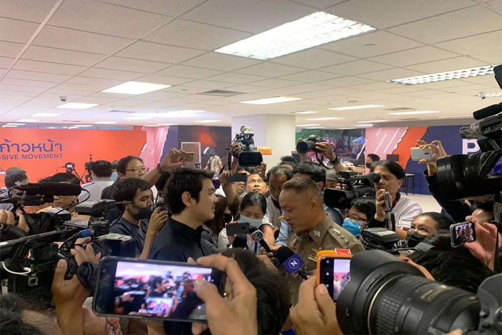 Thai Police Silence Progressive Movement Press Conference