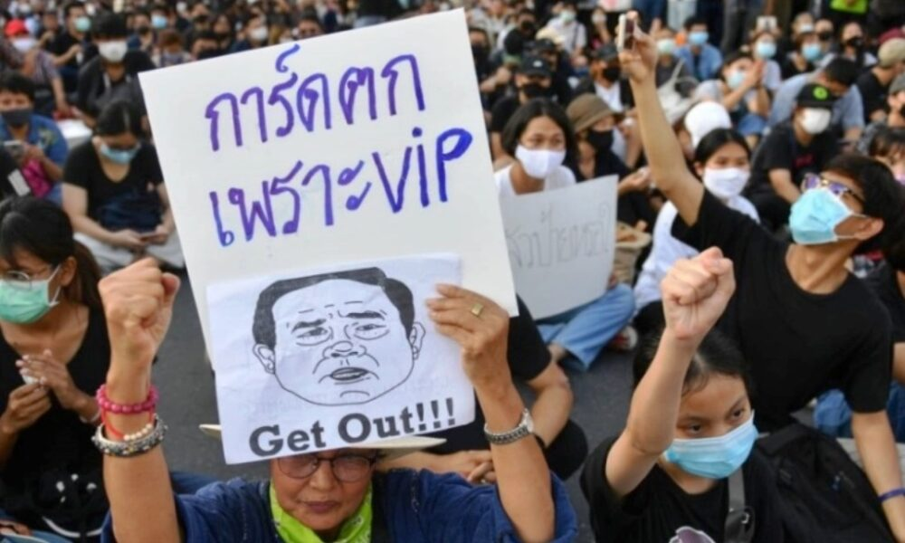 Thailand's Anti-Government Protesters Say Prime Minister Must Go