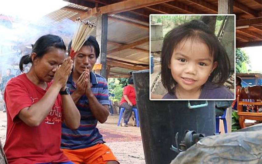 Thailand's Police Still Unable to Find the Murderer of 3 Year-old Girl