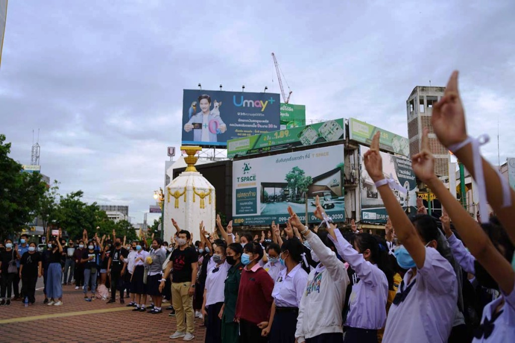 Thailand's Prime Minister Face Nationwide Anti-Government Protests
