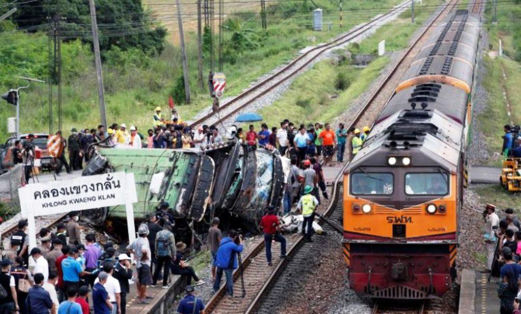 Thailand, Railroad, crossing, Accident