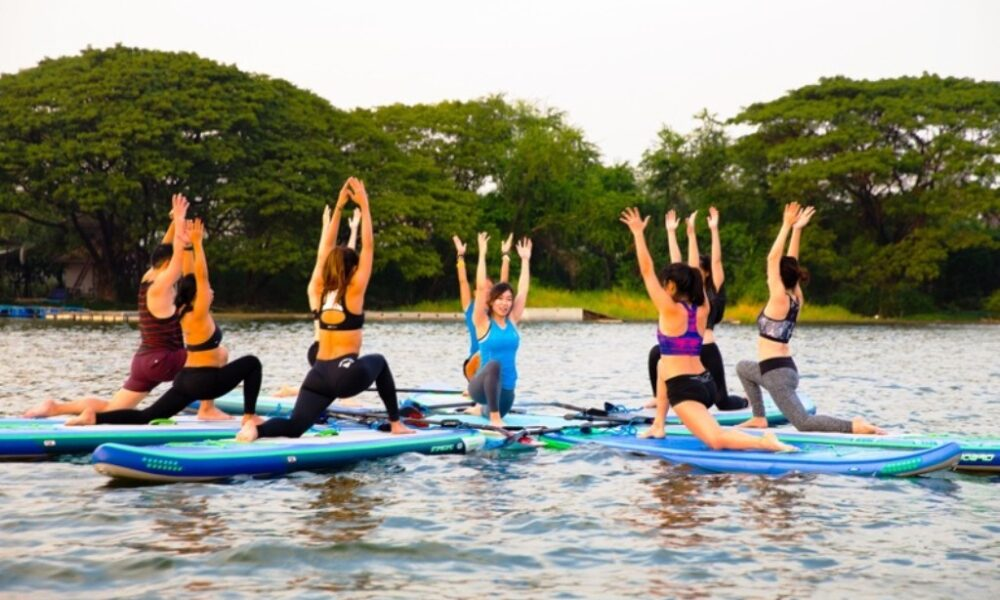 Photo of Learning About the Health Benefits of SUP Yoga Exercise