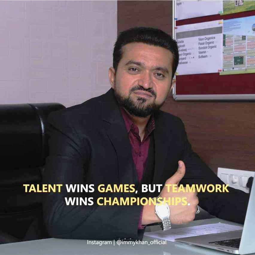 Meet Life Coach and a Successful Business Man – Immy Khan
