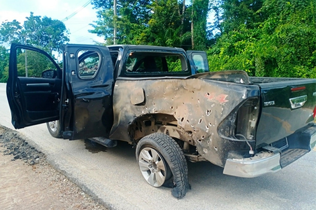 Army Rangers Bombed on the Way to a Wedding in Southern Thailand