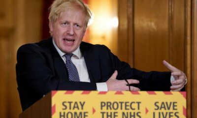 Boris Johnson Locks Down England as UK COVID-19 Cases Surge