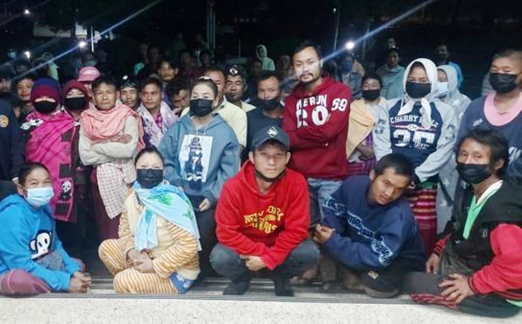 Karen Villagers Enraged after Sewage Truck Dumps Waist Near Watershed