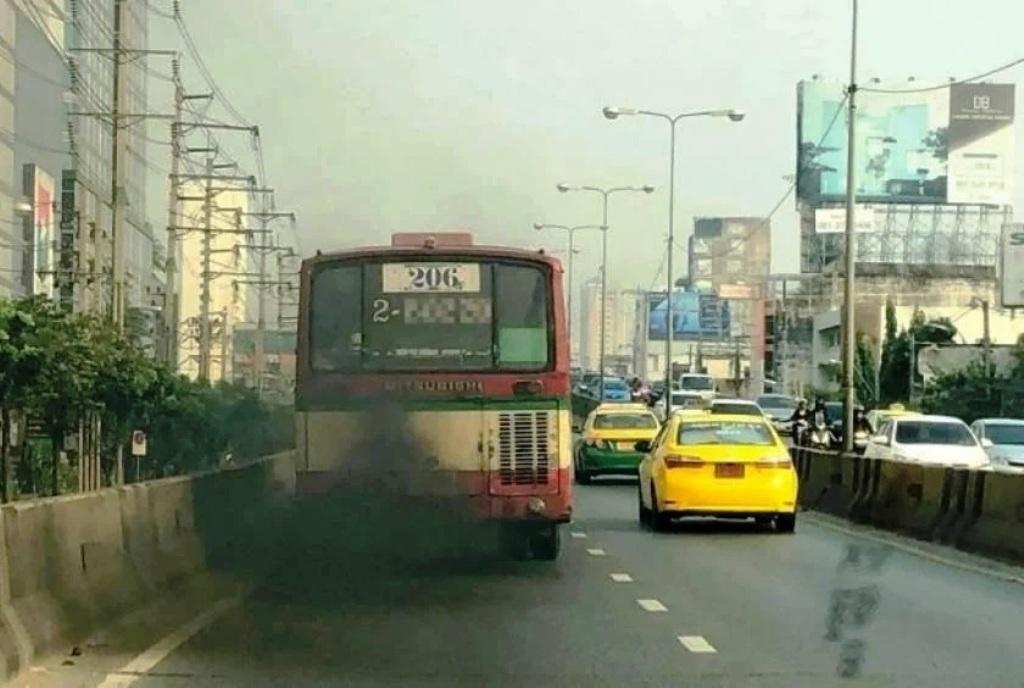 Majority of Large Vehicles Failing Emission Standards in Bangkok