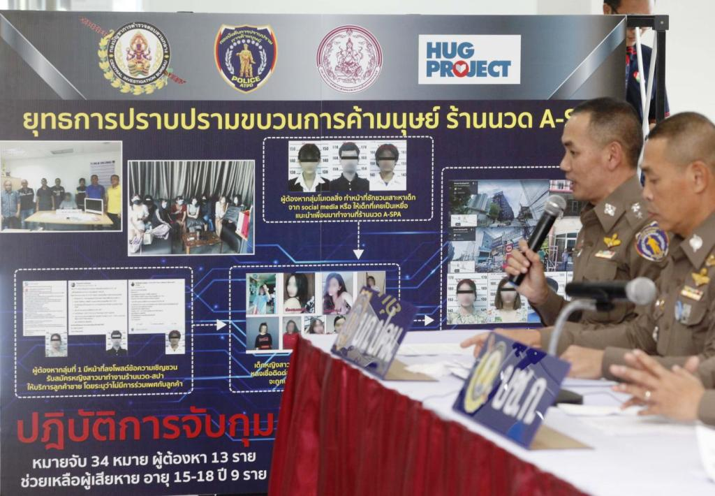 Nine Teenage Girls Rescued from a Human Trafficking Ring