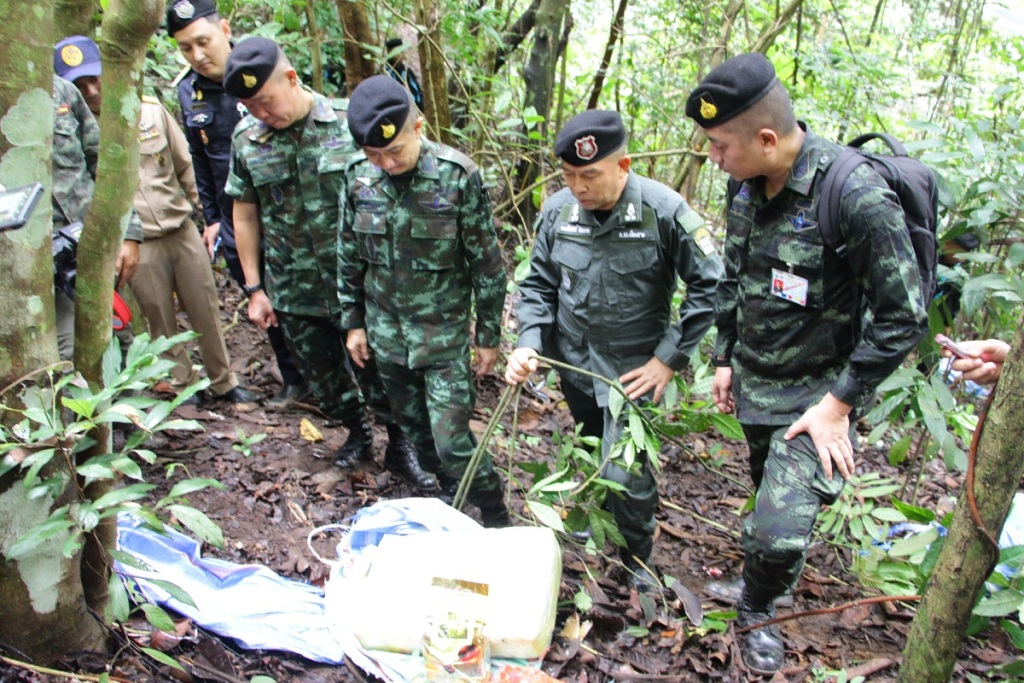 Meth, Soldiers Kill Drug Runners in Mae Fa Luang District of Chiang Rai
