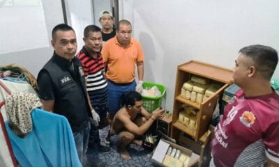 Narcotics suppression police, ketamine, Southern Thailand Man Busted with 27 Kilograms of Heroin