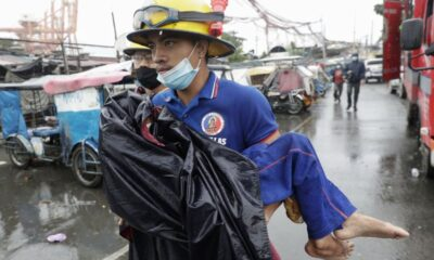 Super Typhoon Leaved 22 Dead and 775,513 Displaced in Philippines