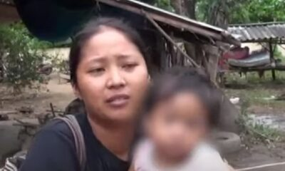 Thailand, Prachinburi, Family Left Penniless by Flash Floods Begs for Help