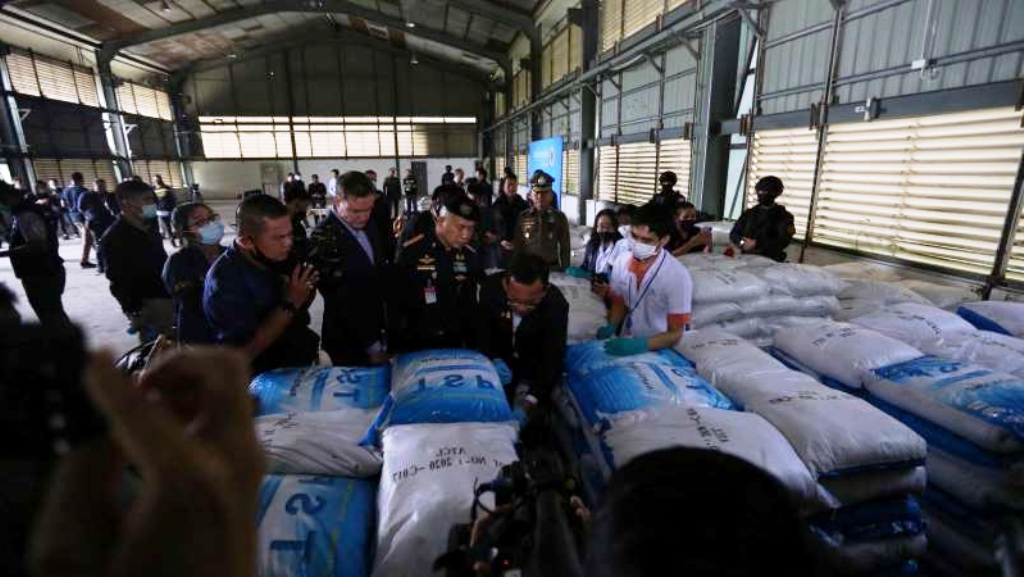 Thai Police Seized 11.5 Tonnes of Ketamine Worth US$960 Million